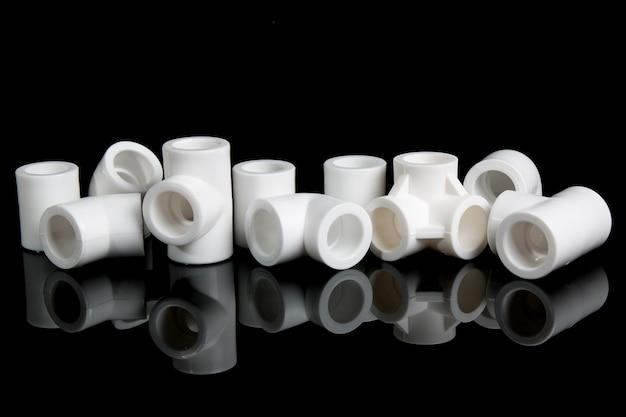 Acessórios de encanamento para tubos de pvc de plástico