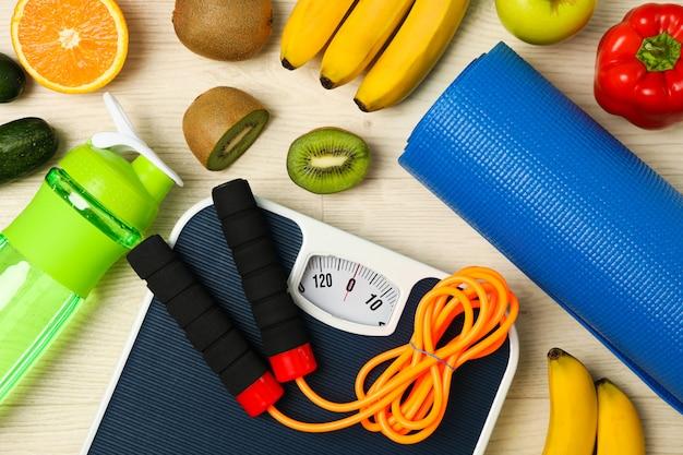 Acessórios de estilo de vida saudável