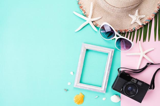 Acessórios de praia para férias de verão e férias