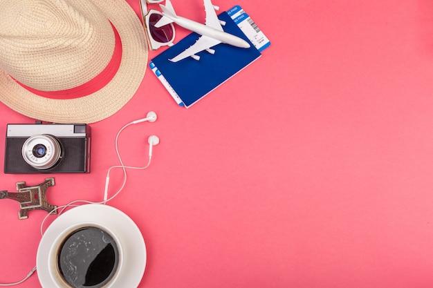 Acessórios de viagem de verão