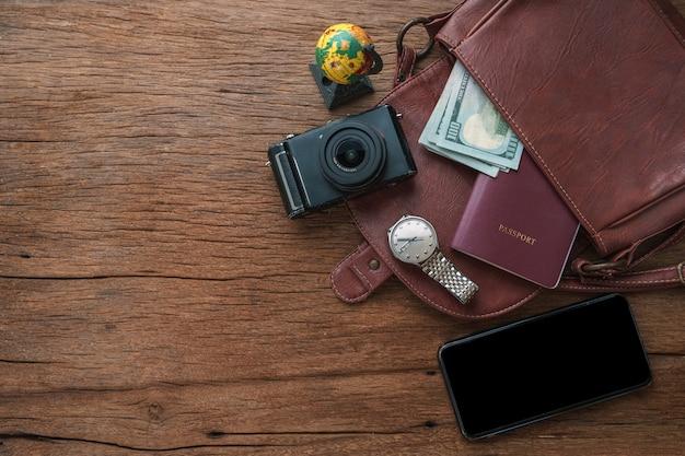Acessórios de viagem para o estilo de vida do viajante