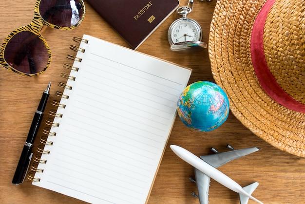 Acessórios de viagem para viagem de férias
