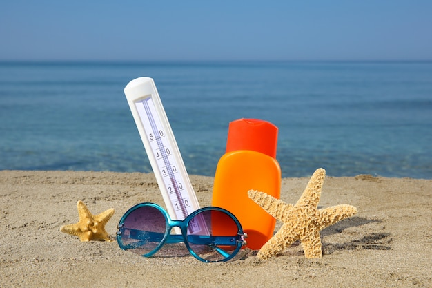 Acessórios femininos de verão