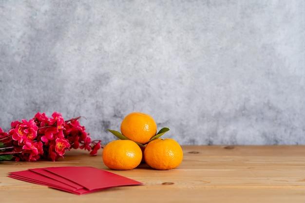 Acessórios no feriado de ano novo lunar e ano novo chinês.