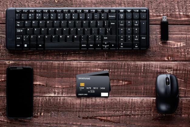 Acessórios para compras e pagamentos online