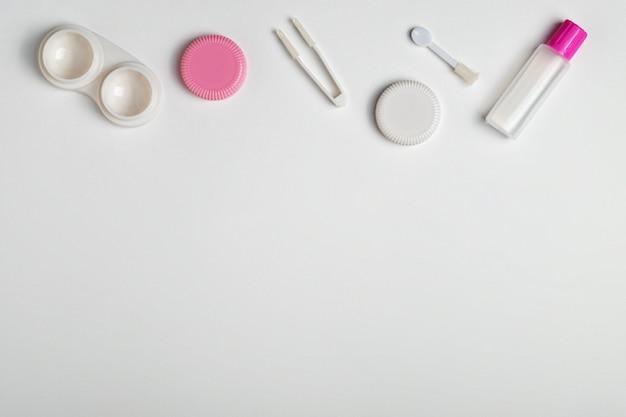 Acessórios para lentes de contato