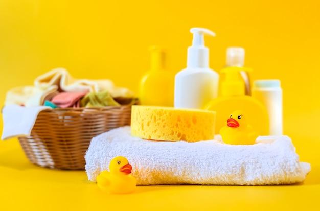 Acessórios para o banho do bebê