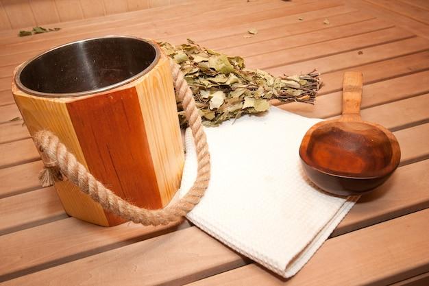 Acessórios para sauna finlandesa