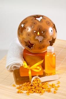 Acessórios para tratamentos de spa