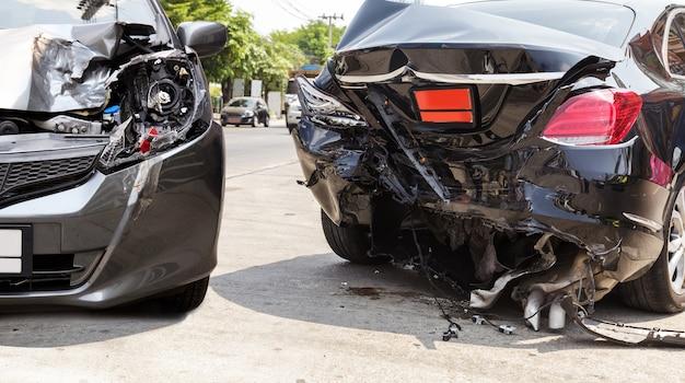 Acidente de carro acidente