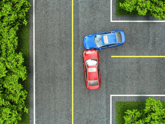Acidente na estrada