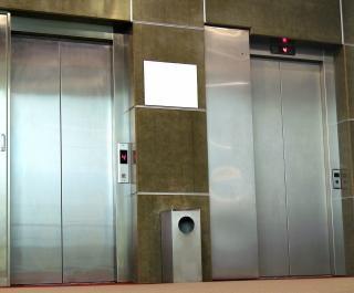 Aço inox de elevadores
