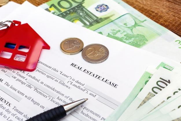 Acordo de contrato de locação de imóveis residenciais