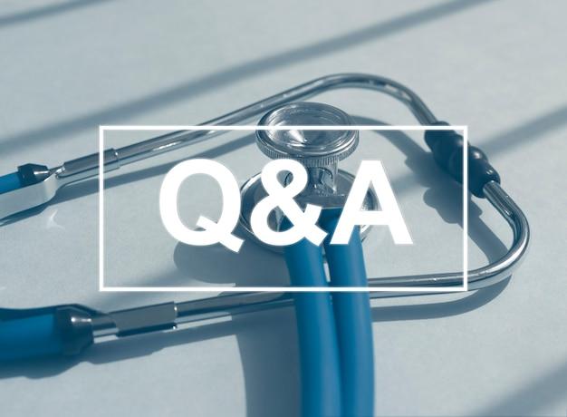 Acrônimo qna. conceito de qa médico. perguntas e respostas em medicina.
