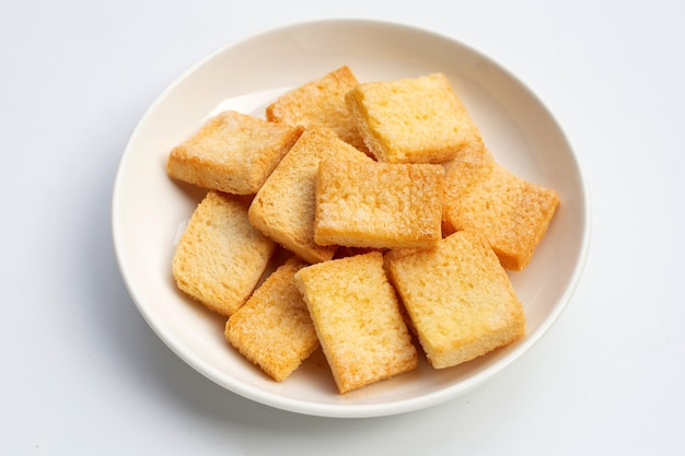 Açúcar de manteiga de pão crocante.
