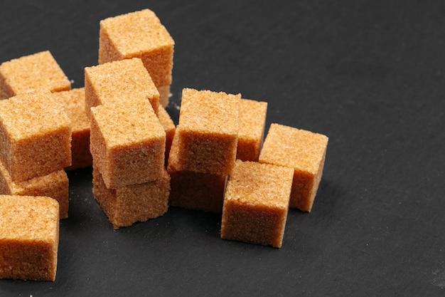 Açúcar de rocha close-up