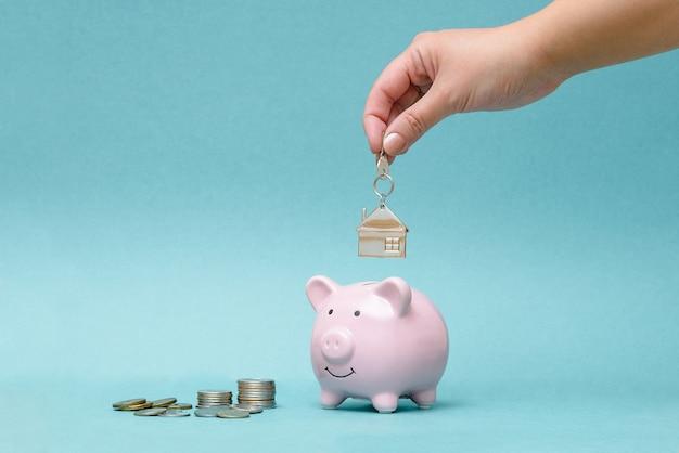 Acumulação para a compra de apartamentos, habitação