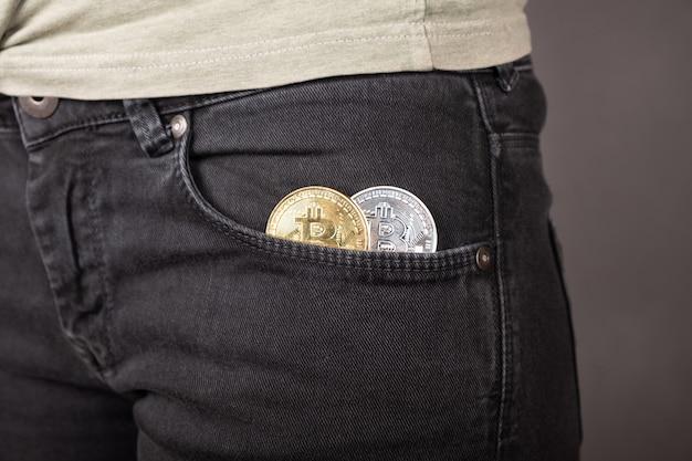 Acúmulo de moeda bitcoins do mundo