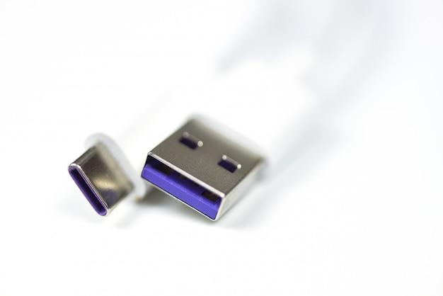 Adaptador usb tipo c carregador