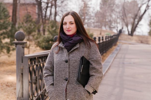 Advogado, tendo um passeio