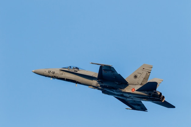 Aeronaves f-18 hornet
