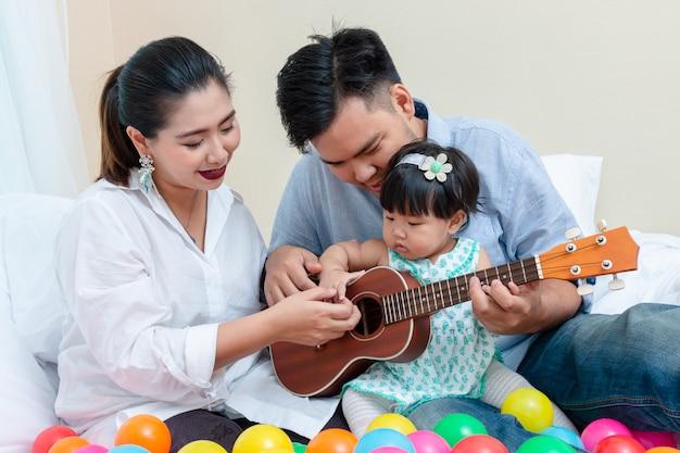 Afeto da família com o tempo de relaxamento