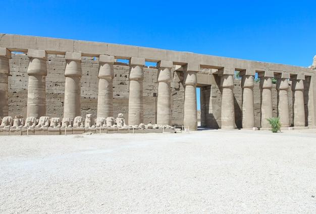 África, egito, luxor, templo de karnak