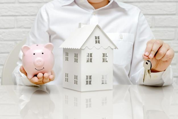 Agente está vendendo um apartamento ou casa