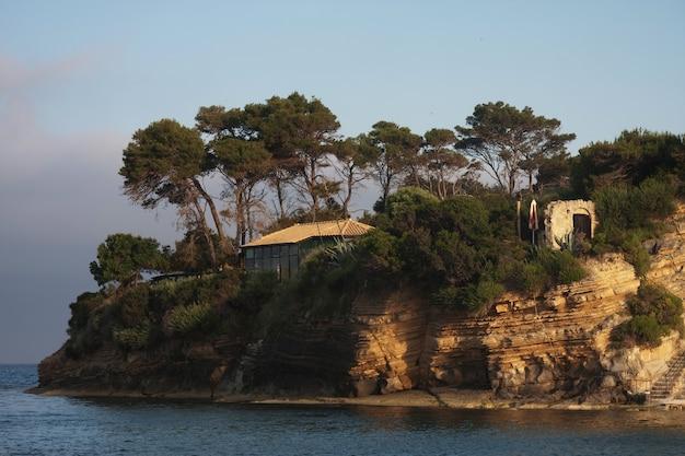 Agios sostis na ilha de zakynthos, grécia