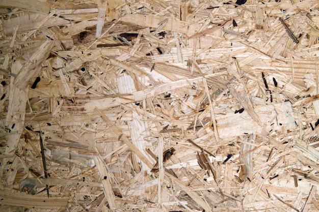 Aglomerado de madeira compactada reciclada