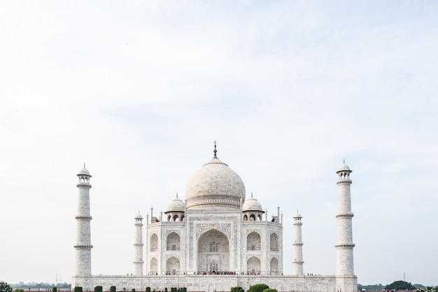 Agra, cidade, taj mahal, índia