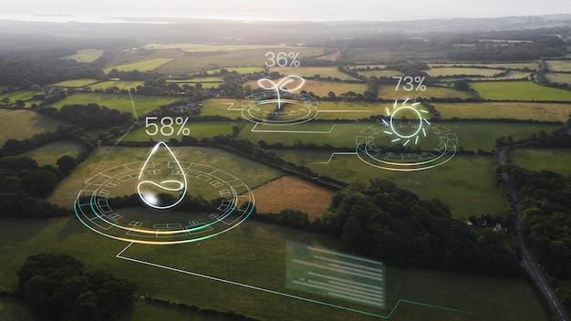 Agricultura inteligente com iot agrícola