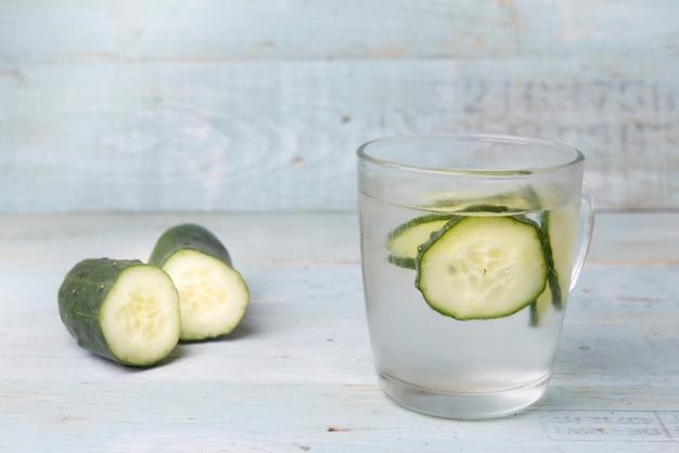Água com vegetais