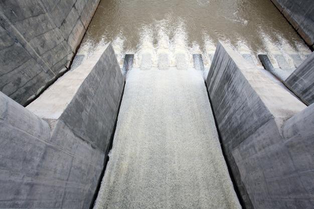 Água da represa do portão