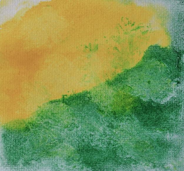 Aguarela abstrata desenhada em fundo pastel