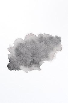 Aguarela abstrata na composição da textura do papel
