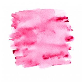 Aguarela rosa