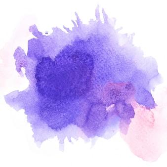 Aguarela violeta.