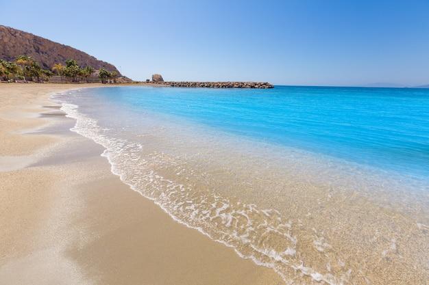 Aguilas poniente praia murcia na espanha
