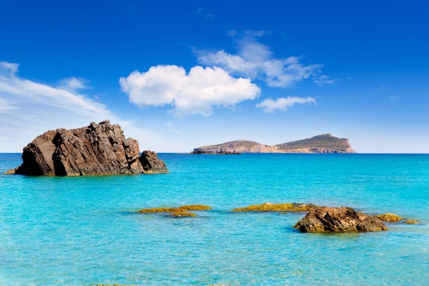 Aiguas blanques agua blanca praia de ibiza
