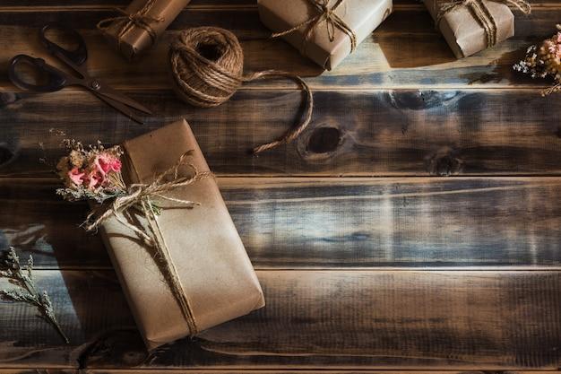 Ainda tiro a vida da caixa de presente artesanal diy pequena bonita (pacote)