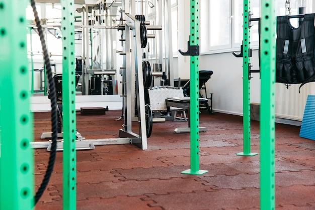 Ainda vida de equipamentos de ginástica