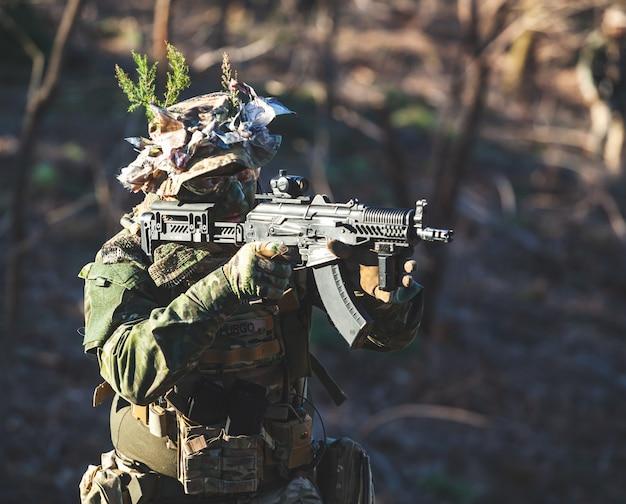Airsoft jogo militar