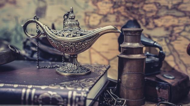 Aladdin oil lamp