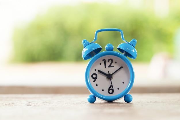 Alarme de relógio retro