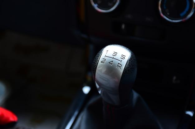 Alavanca de câmbio de carro de transmissão manual