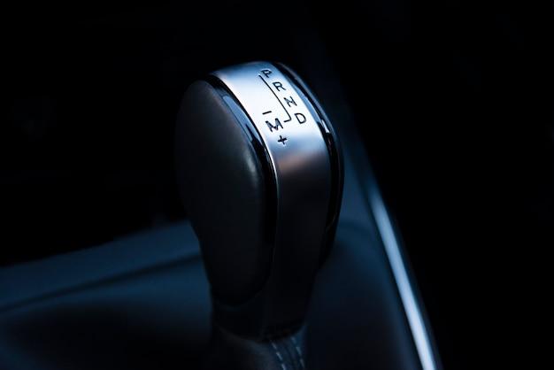 Alavanca de transmissão automática, transmissão manual