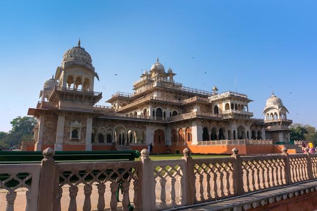 Albert hall - museu central em jaipur, índia