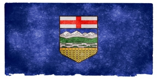 Alberta grunge bandeira