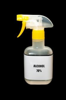 Álcool 70 spray para proteção contra covid19